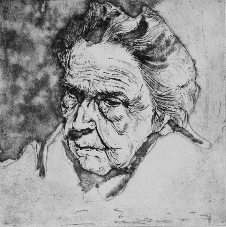 Great Grandma study II (fifth state)