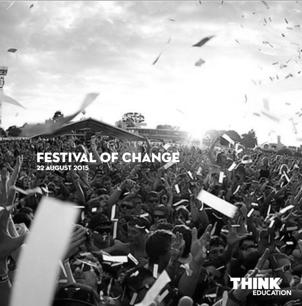 Festival of Change, 2015 / Speaker