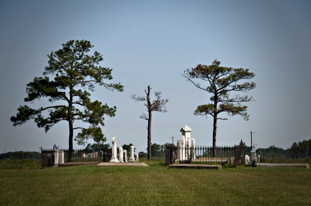 graveyard on Hooper's Island