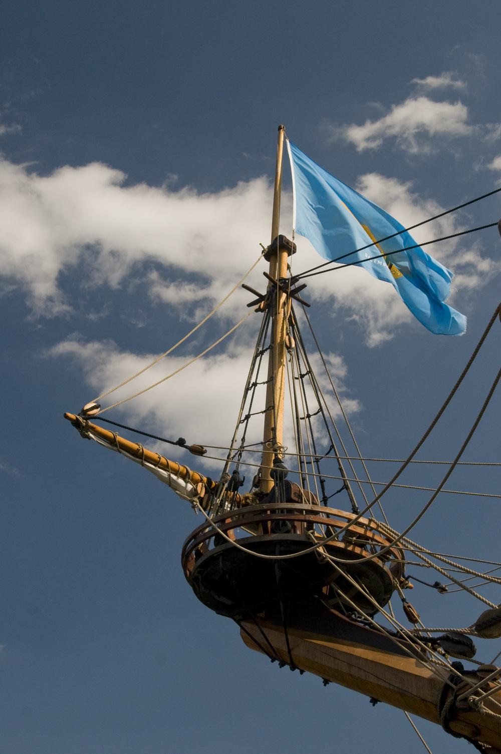 Tall ship Kalmar Nykel