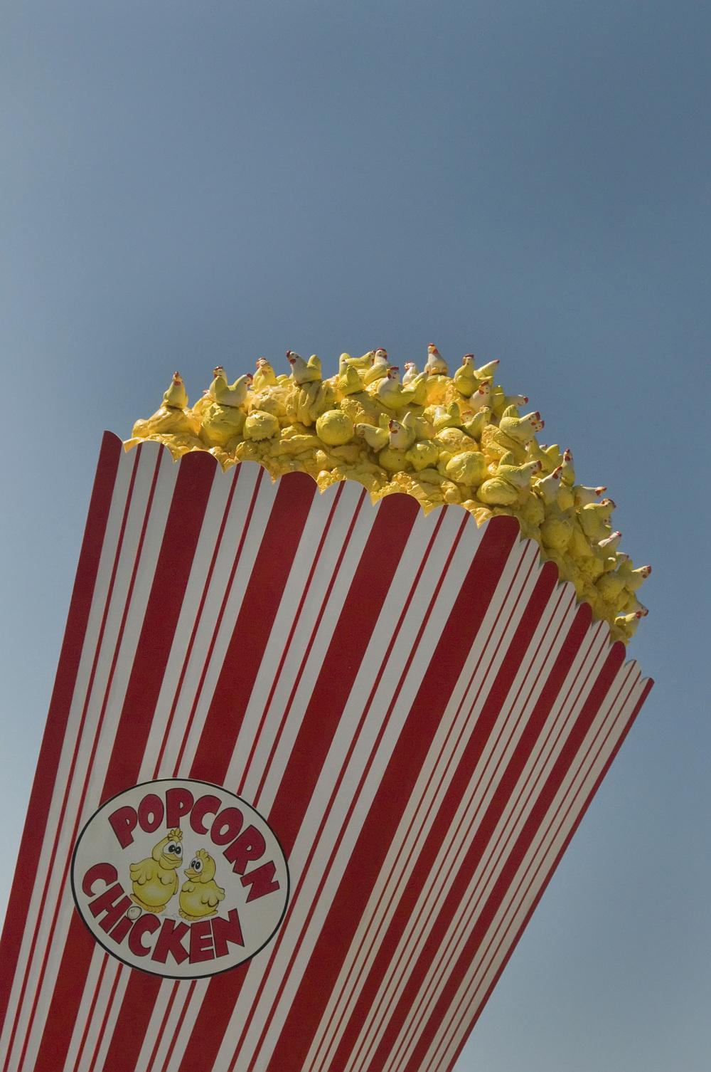 Popcorn sculpture San Diego