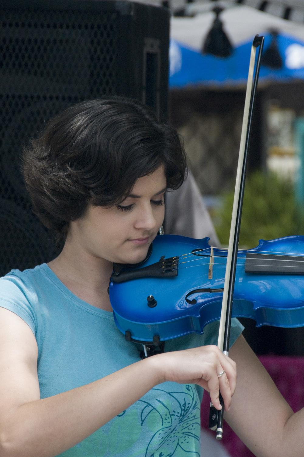 Balboa Park fiddler