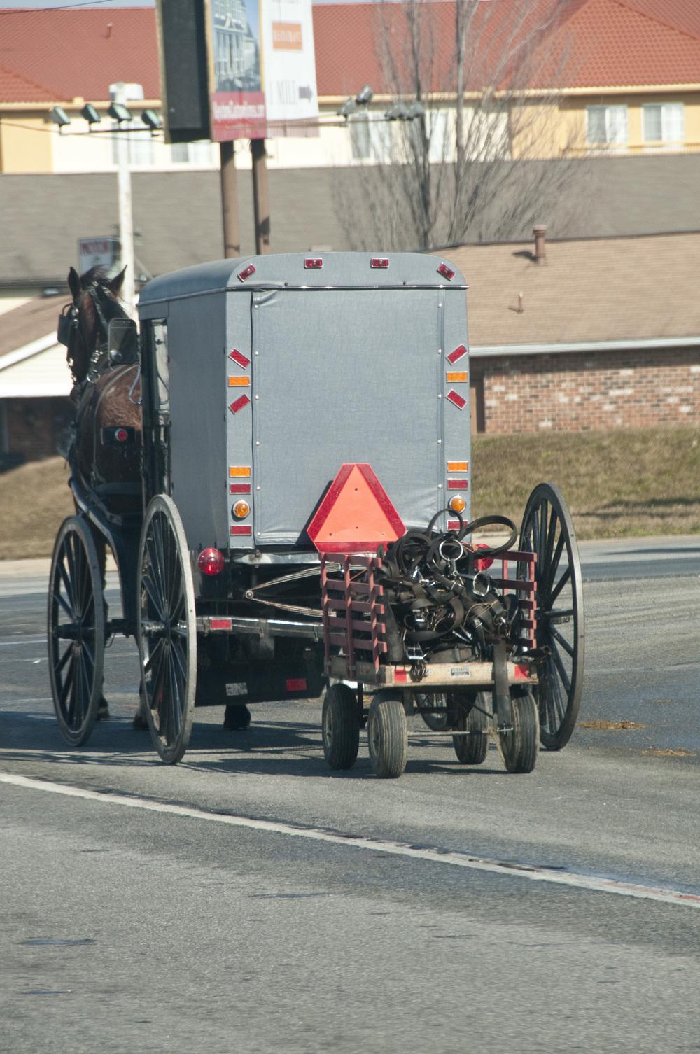 Amish trailer