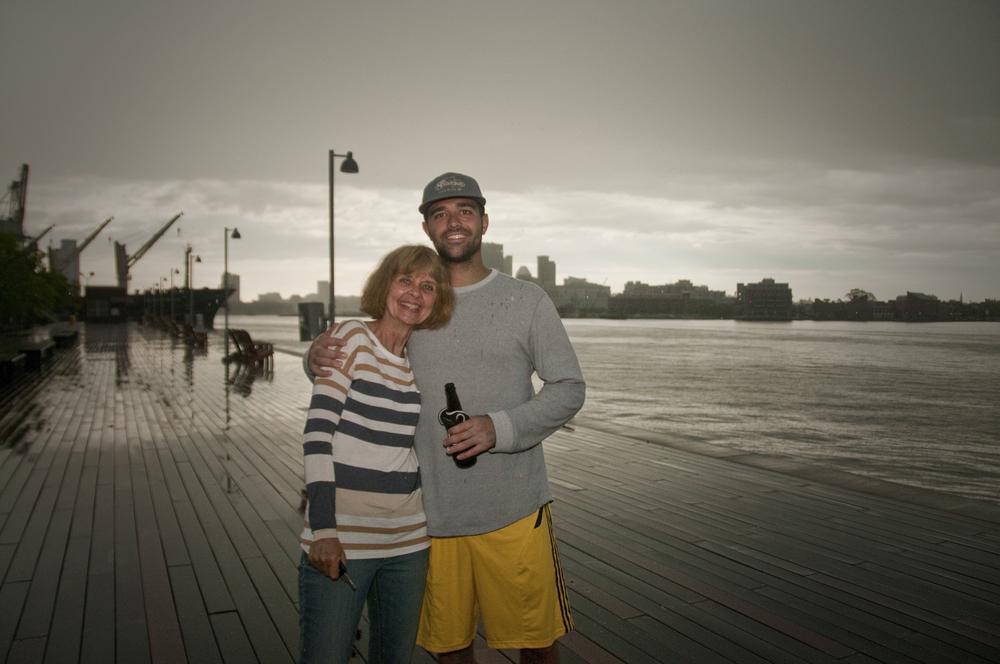 mom & Alex