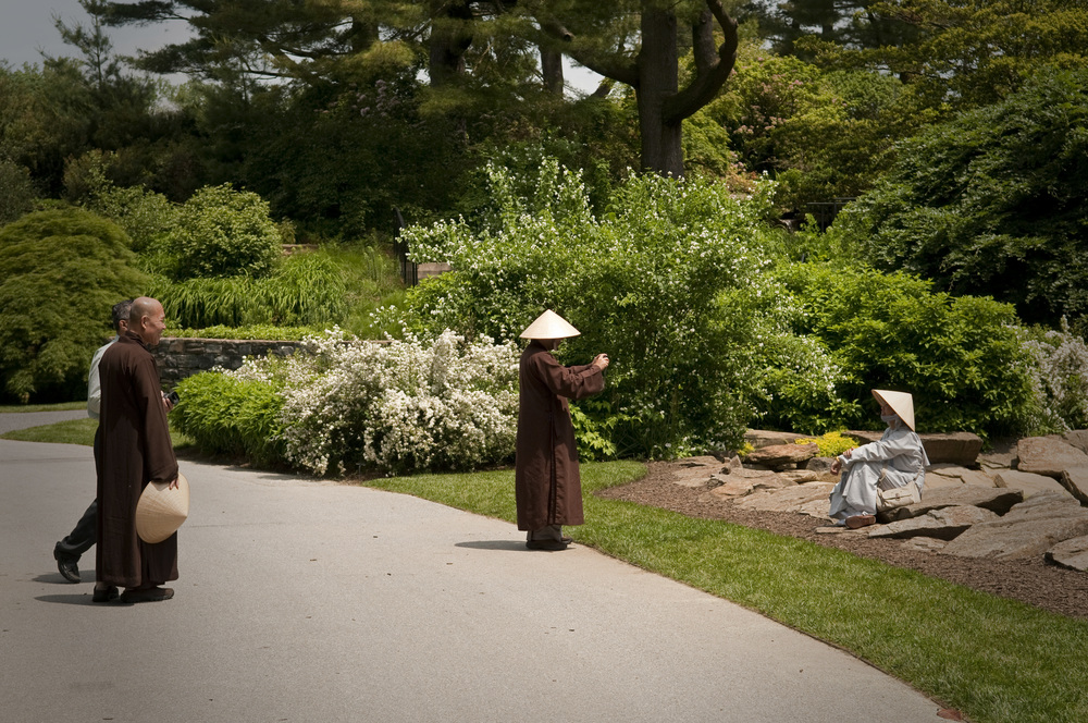 Monks at Longwood Gardens