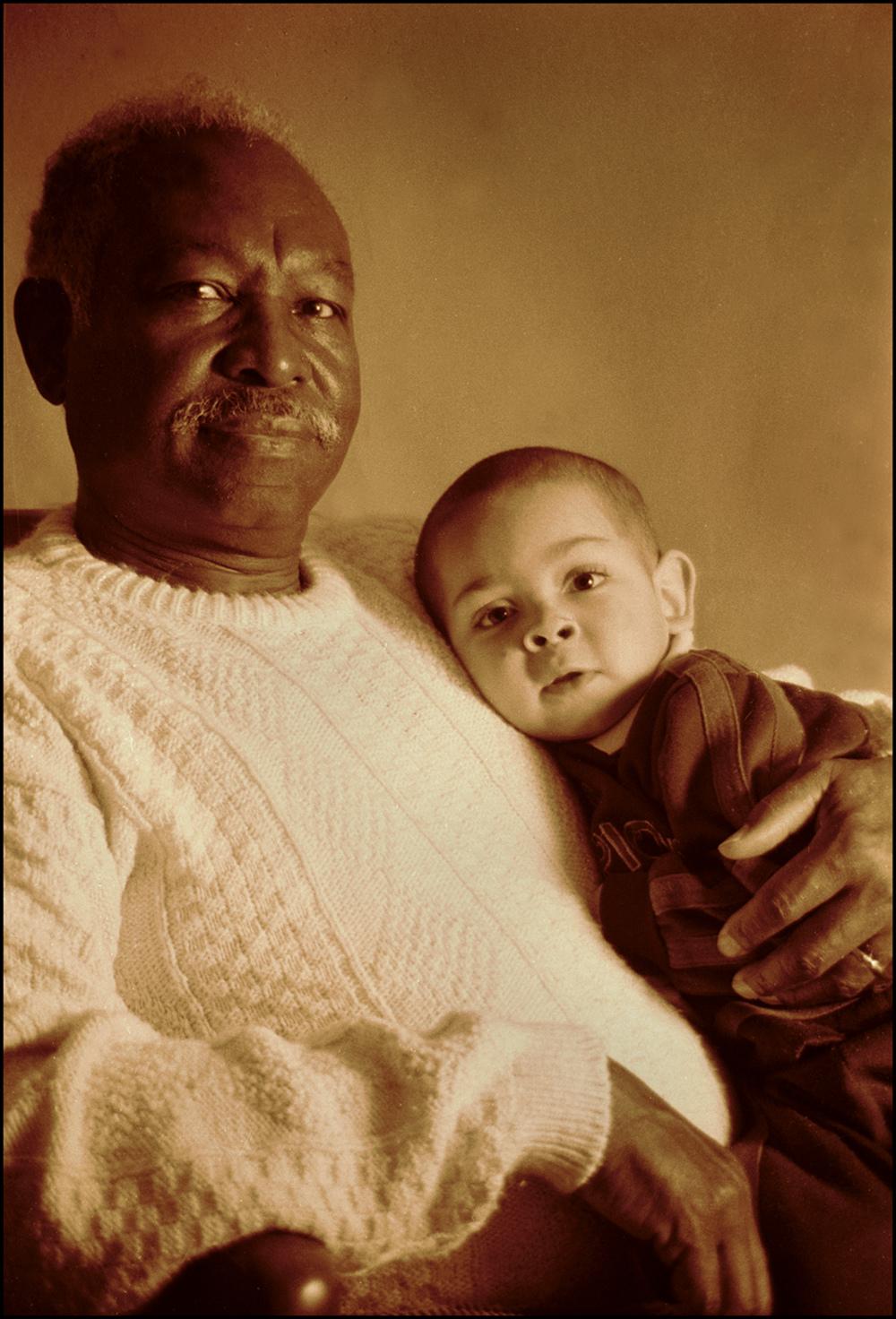 Olice & grandson