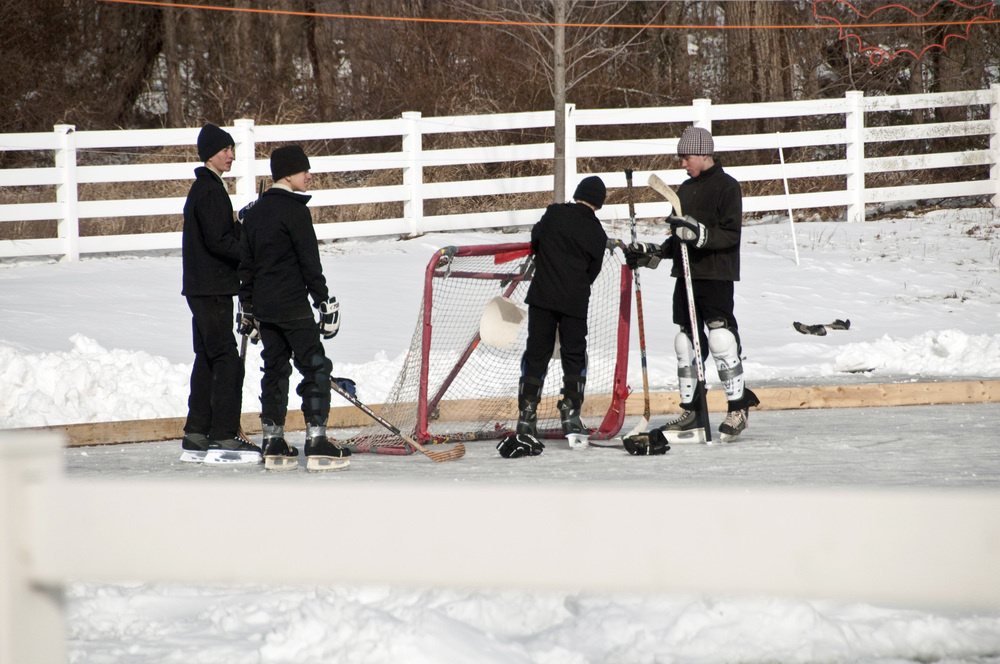 Amish ice hockey