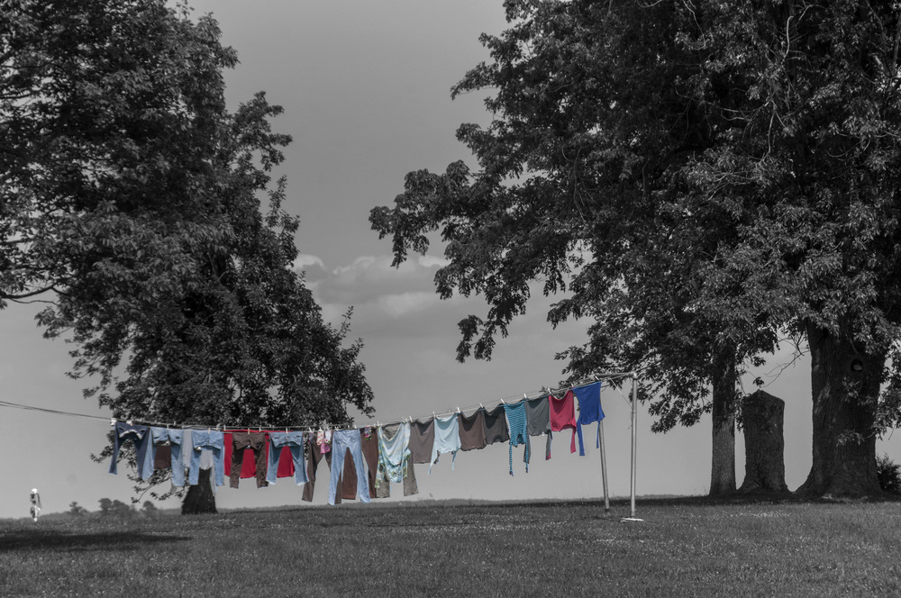 Hooper's Island clothesline