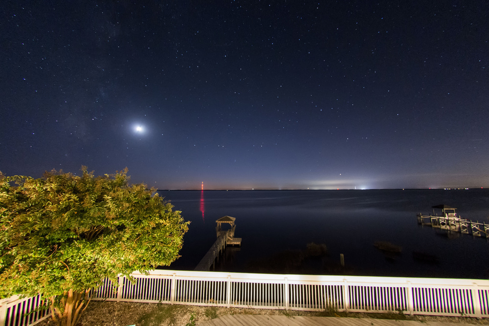 OBX starry night