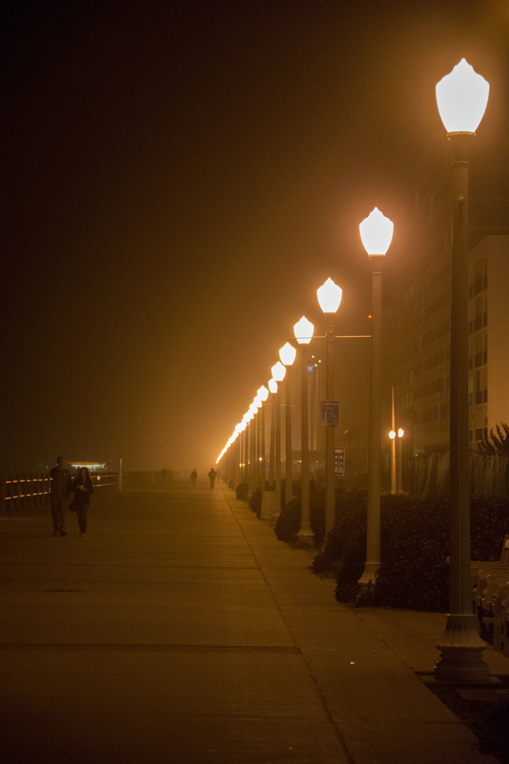 Promenade at night