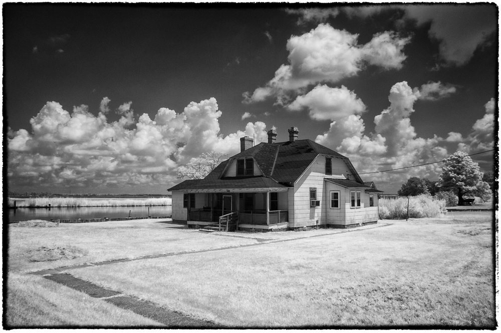 Infrared house near Blackwater NWR