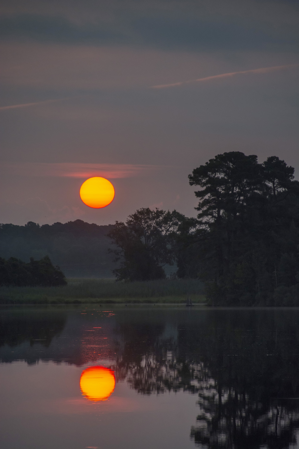 Sunrise at Blackwater NWR