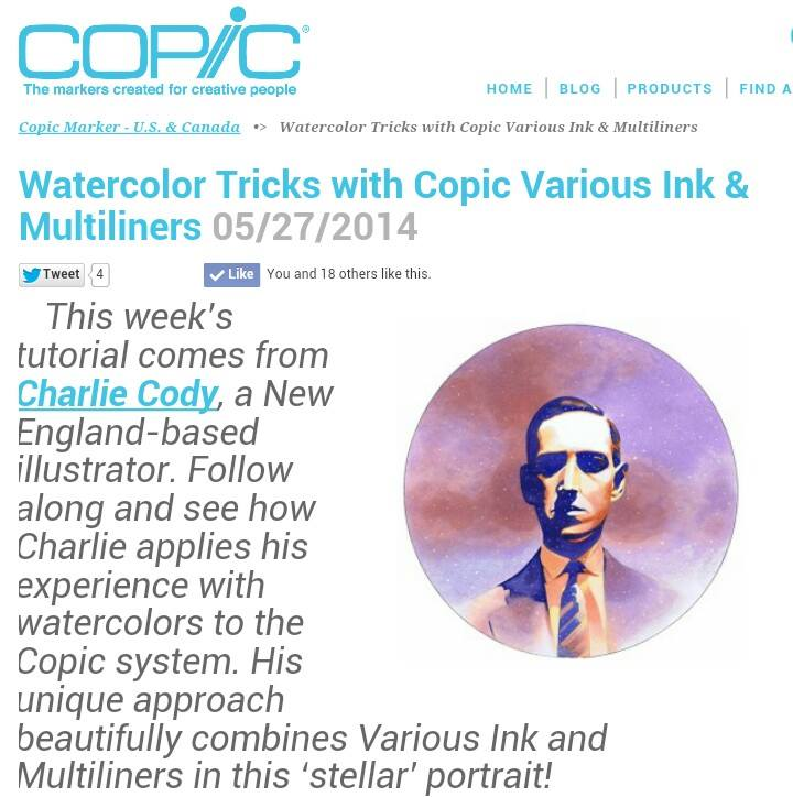 Copic Tutorial