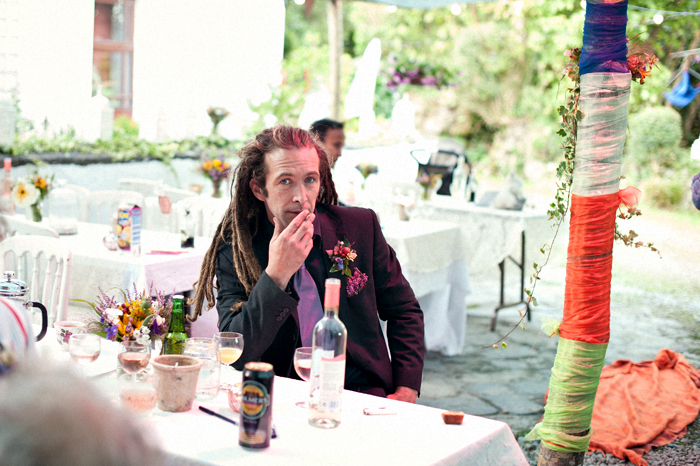 best man with dreadlocks
