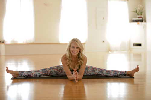 Kaleigh at Maha Yoga
