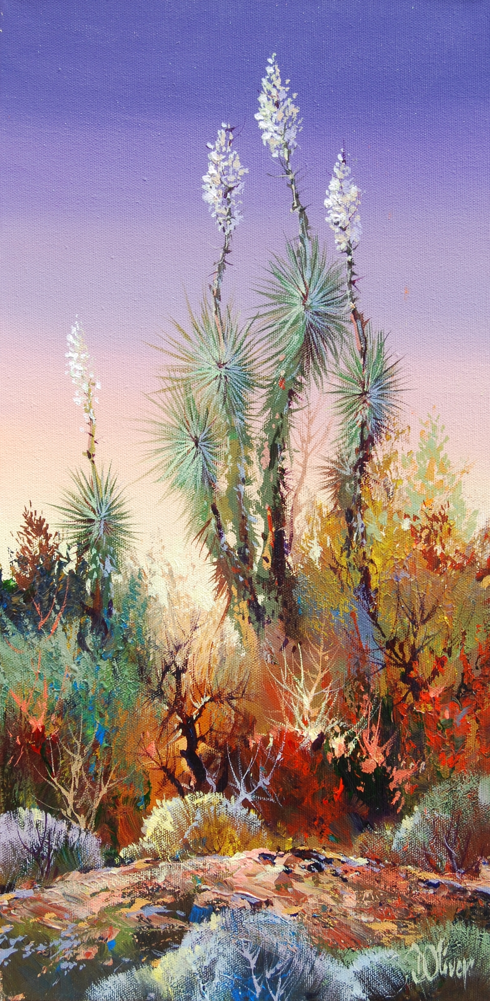 """Yucca Trail""    20x10        $1,100.               SOLD"