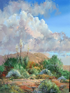 Morning on Yucca Ridge      24 x 18