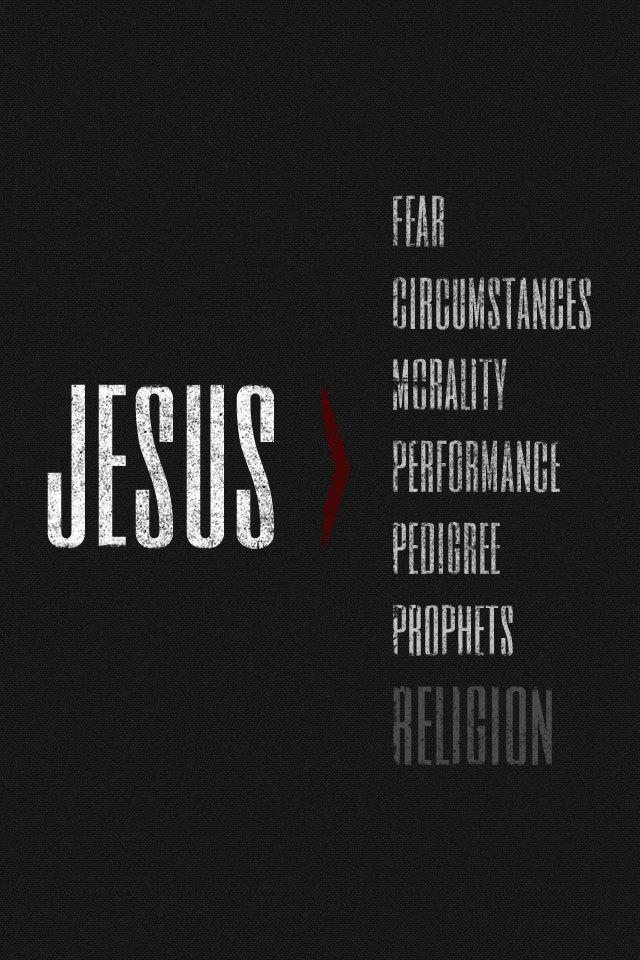 Jesus is Greater — Josh Byers