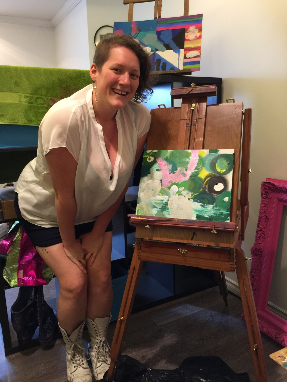 Art Studio Process Vancouver, BC 2016