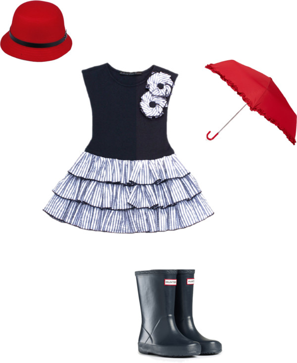 Little Girls Spring Rainy Day Outfit Inspiration {Oklahoma City Children's Photographer}