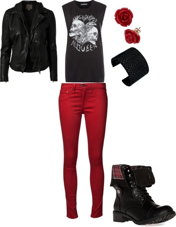 Senior Style | Rocker Chic | {OKC Senior Photographer}