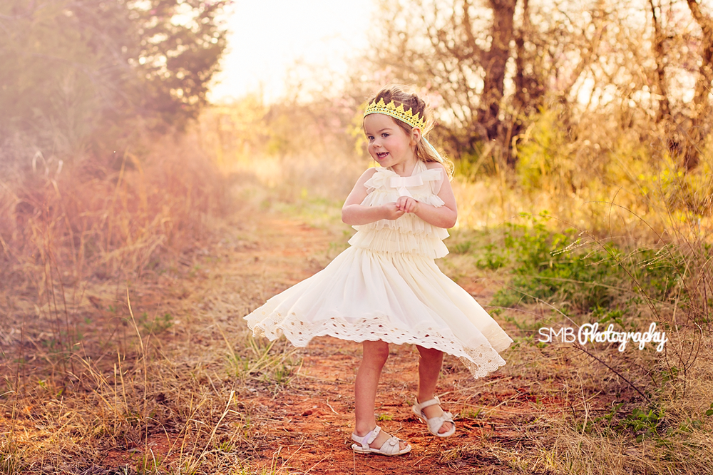 She really knew how to dance like no one was watching! {Oklahoma City Children's Photographer}