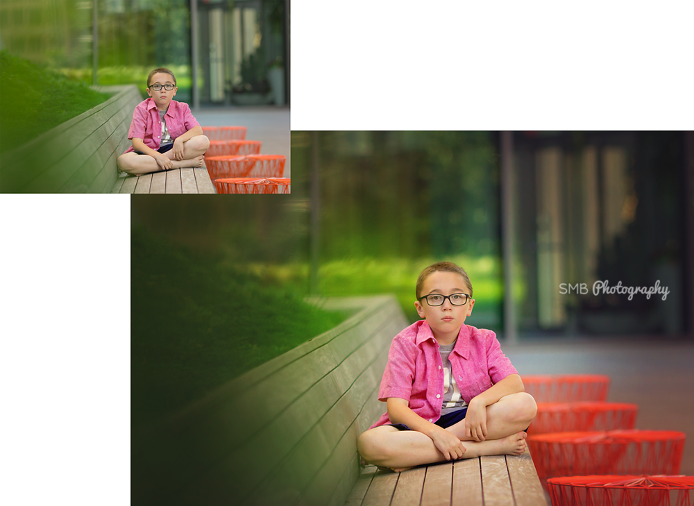 Magic Monday: Before and After Editing | Oklahoma Child Photographer