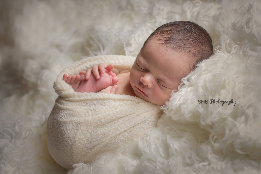 Sneak Peek: Baby Gael | Oklahoma City Newborn Photographer