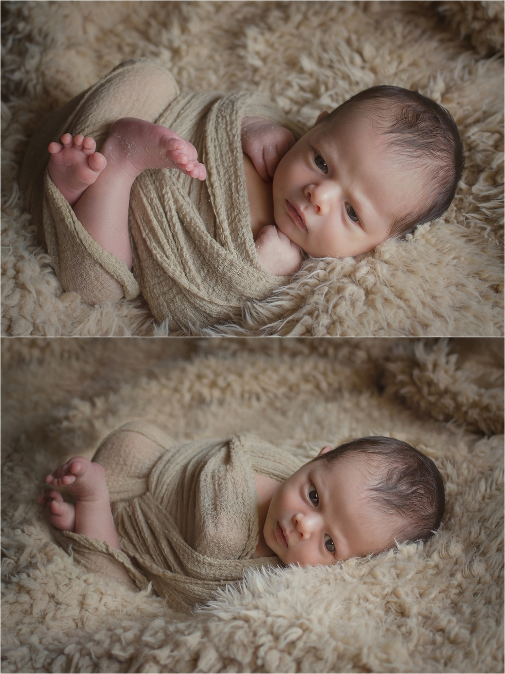 Oklahoma City Newborn Photographer | Baby Gael