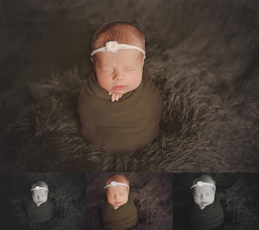 Oklahoma City Newborn Photographer | Baby Kaelor