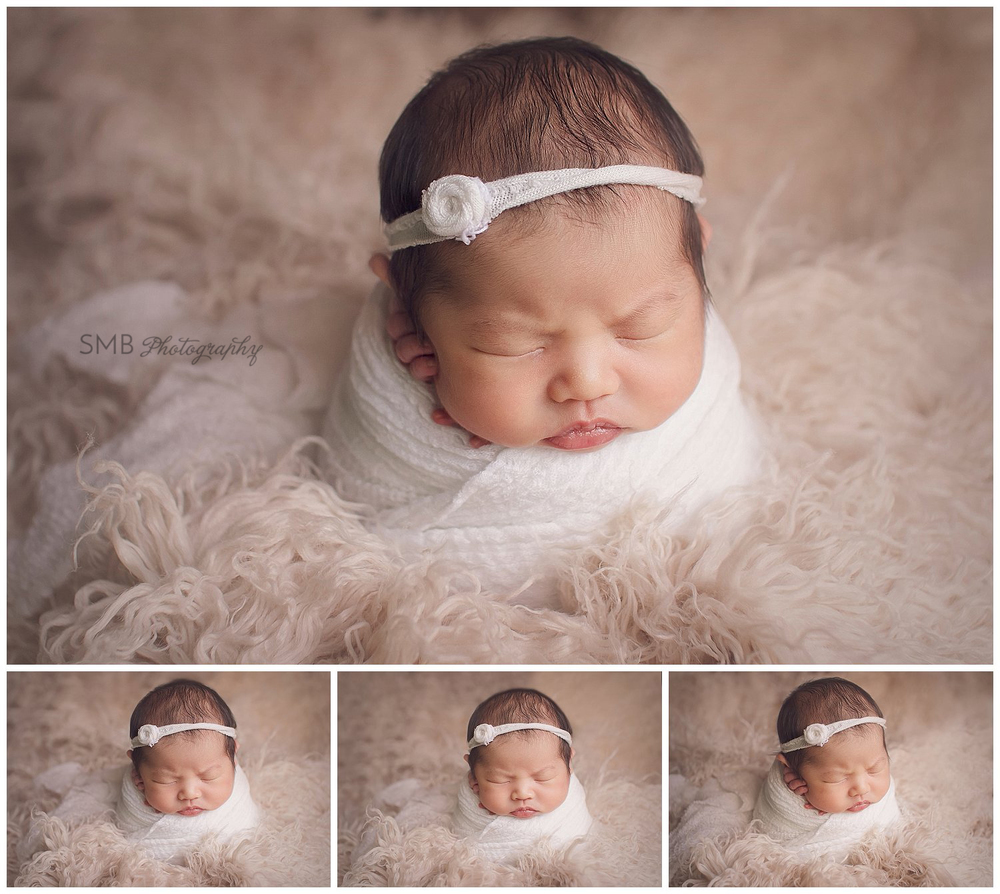 Oklahoma City Newborn Photographer | Baby Gwen