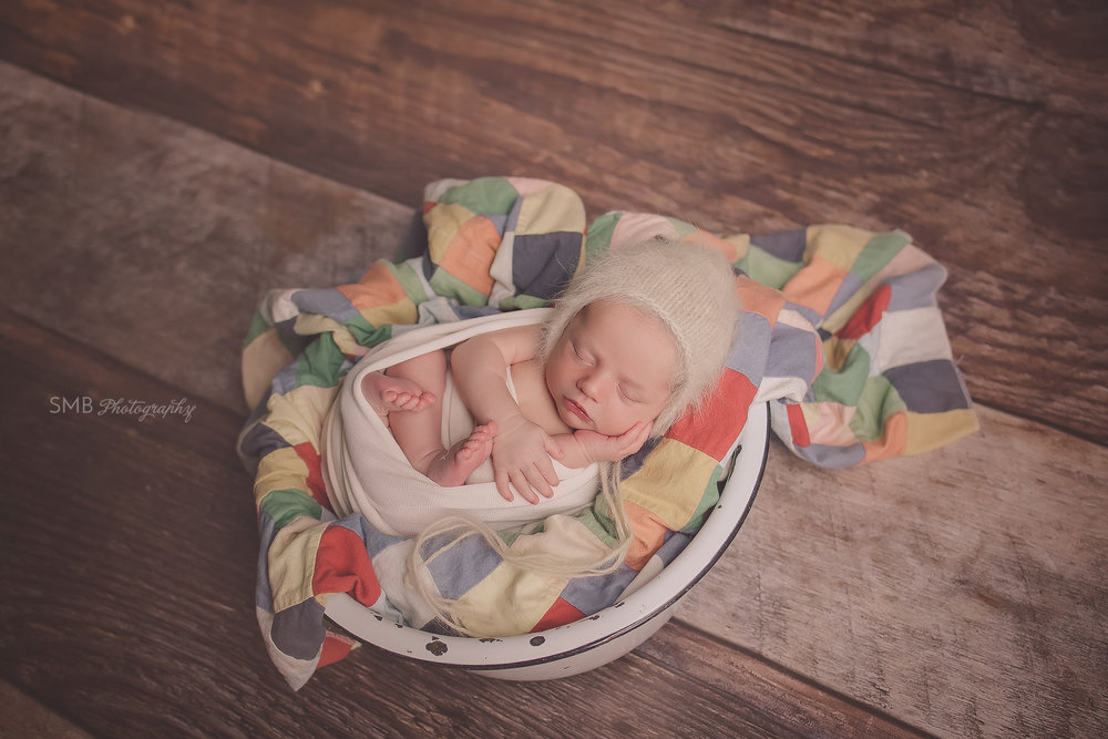 Baby Marshall | Oklahoma City Newborn Photographer