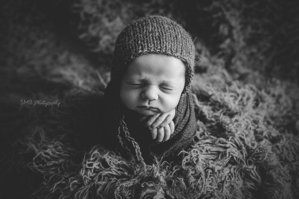 Central Oklahoma Newborn Photographer | Baby Kane