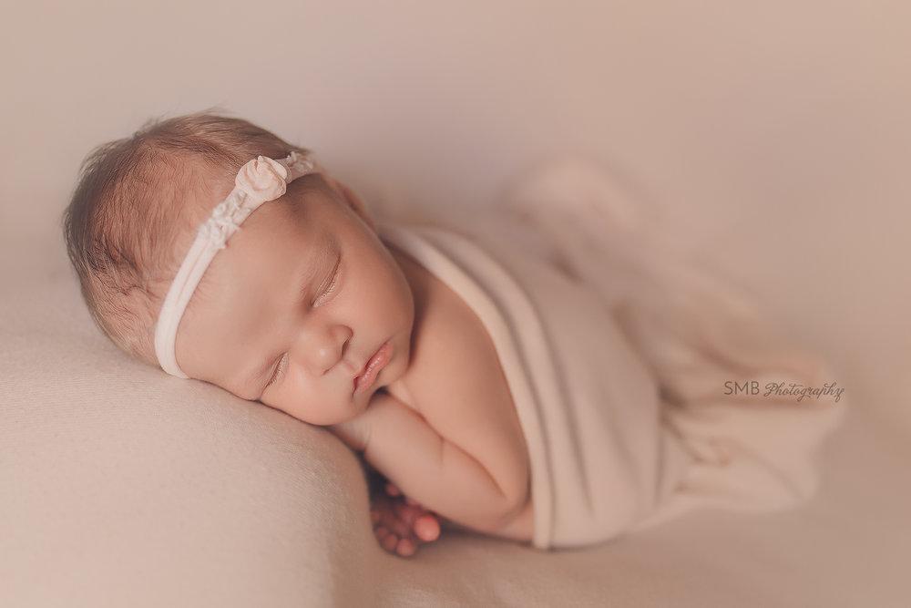 Oklahoma City Newborn Photographer   Baby Avery