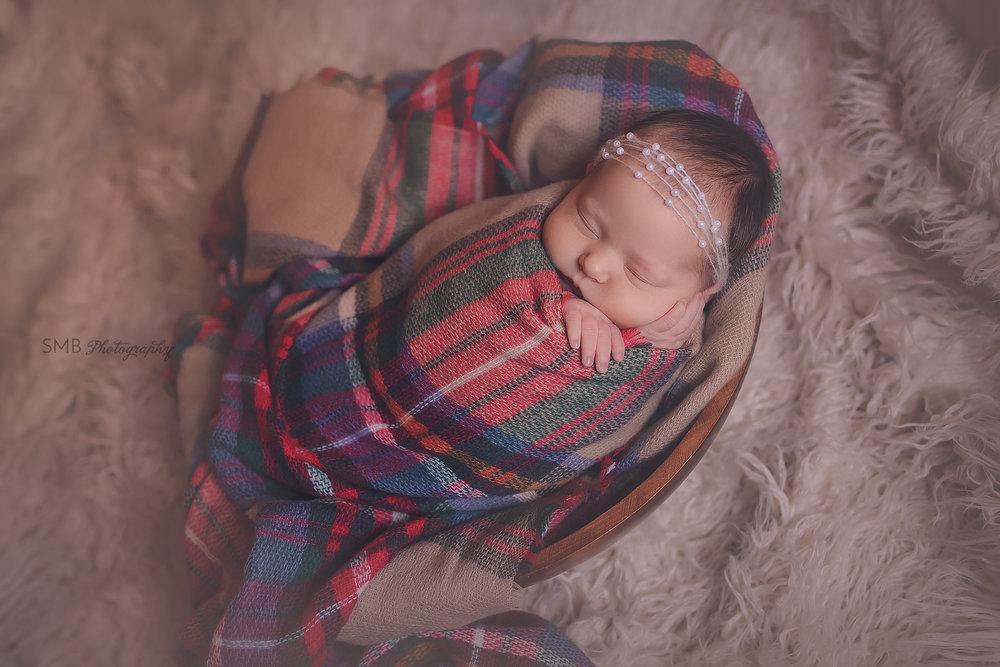 Oklahoma City Newborn Photographer | Baby Magdalen