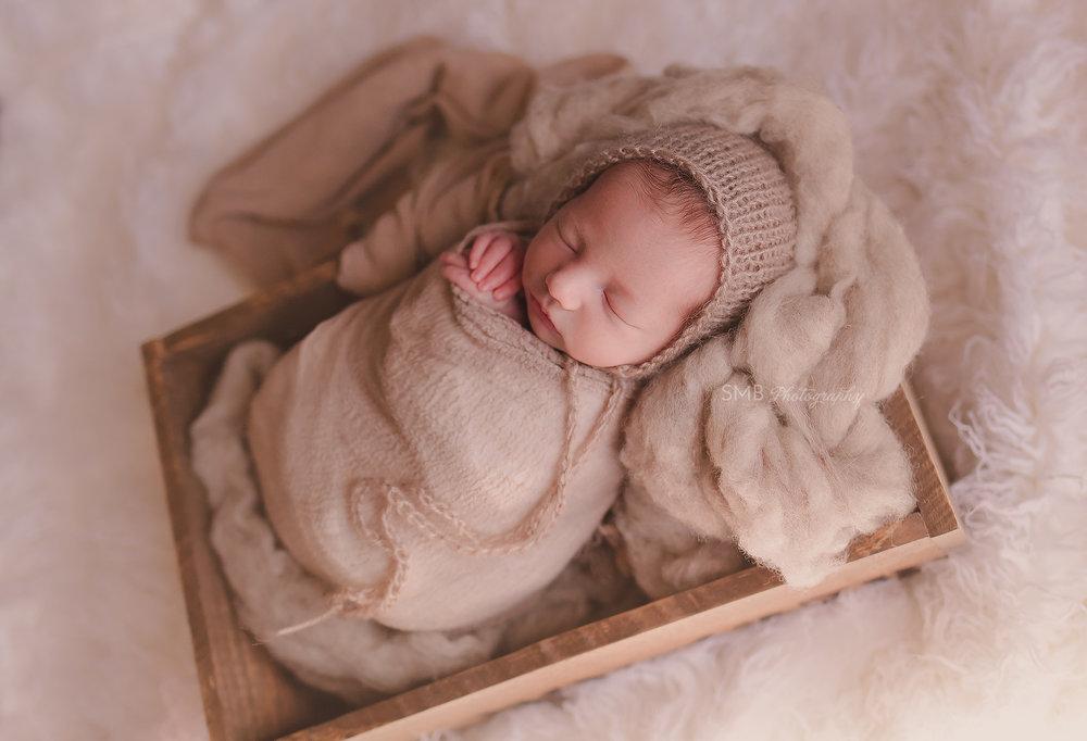 Oklahoma City In Home Newborn Photographer | Baby Jackson