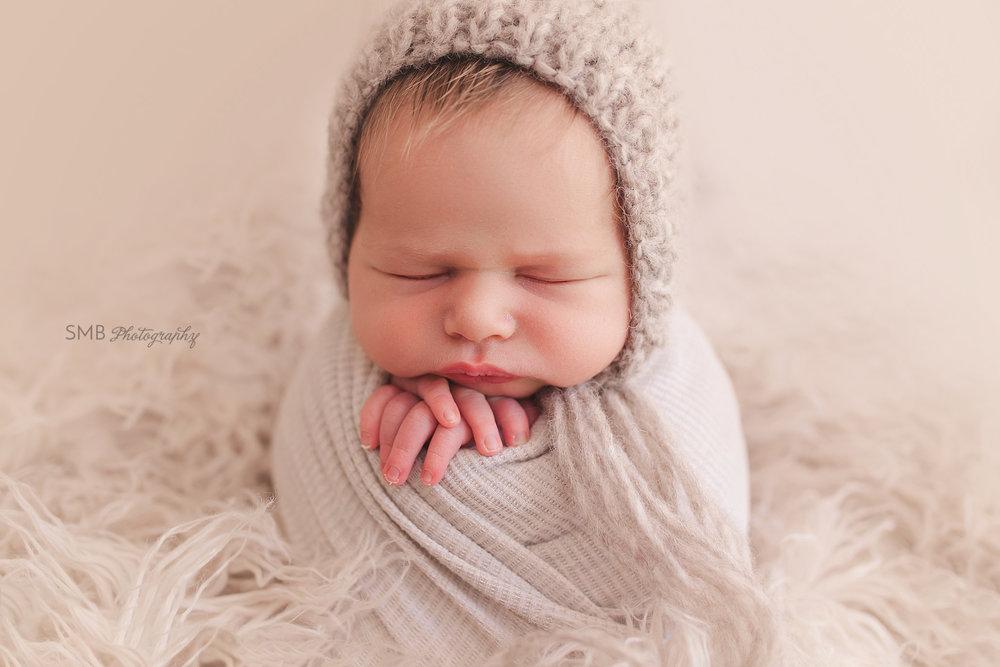 Oklahoma Photographer - Baby Carson - Newborn Session