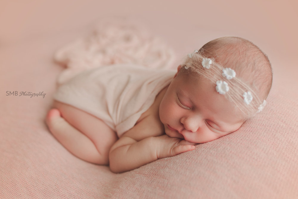 Oklahoma City Newborn Photographer | Baby Madeline