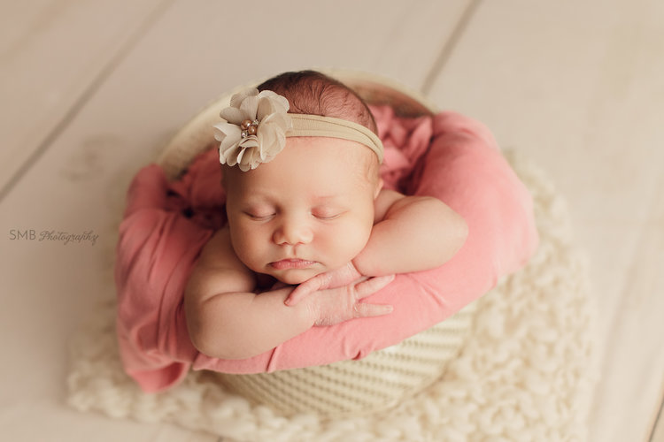 Sneak peek baby kamila edmond ok newborn photographer
