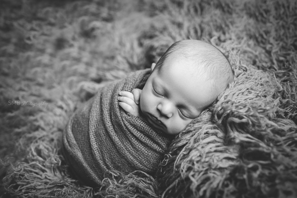 Oklahoma City Newborn Photographer | An Adoption Story: Baby J