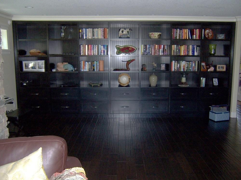 Wall to Wall Bookshelf