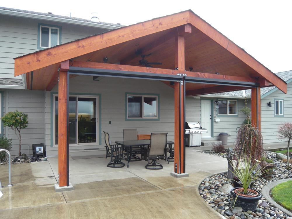 Cedar Covered Deck