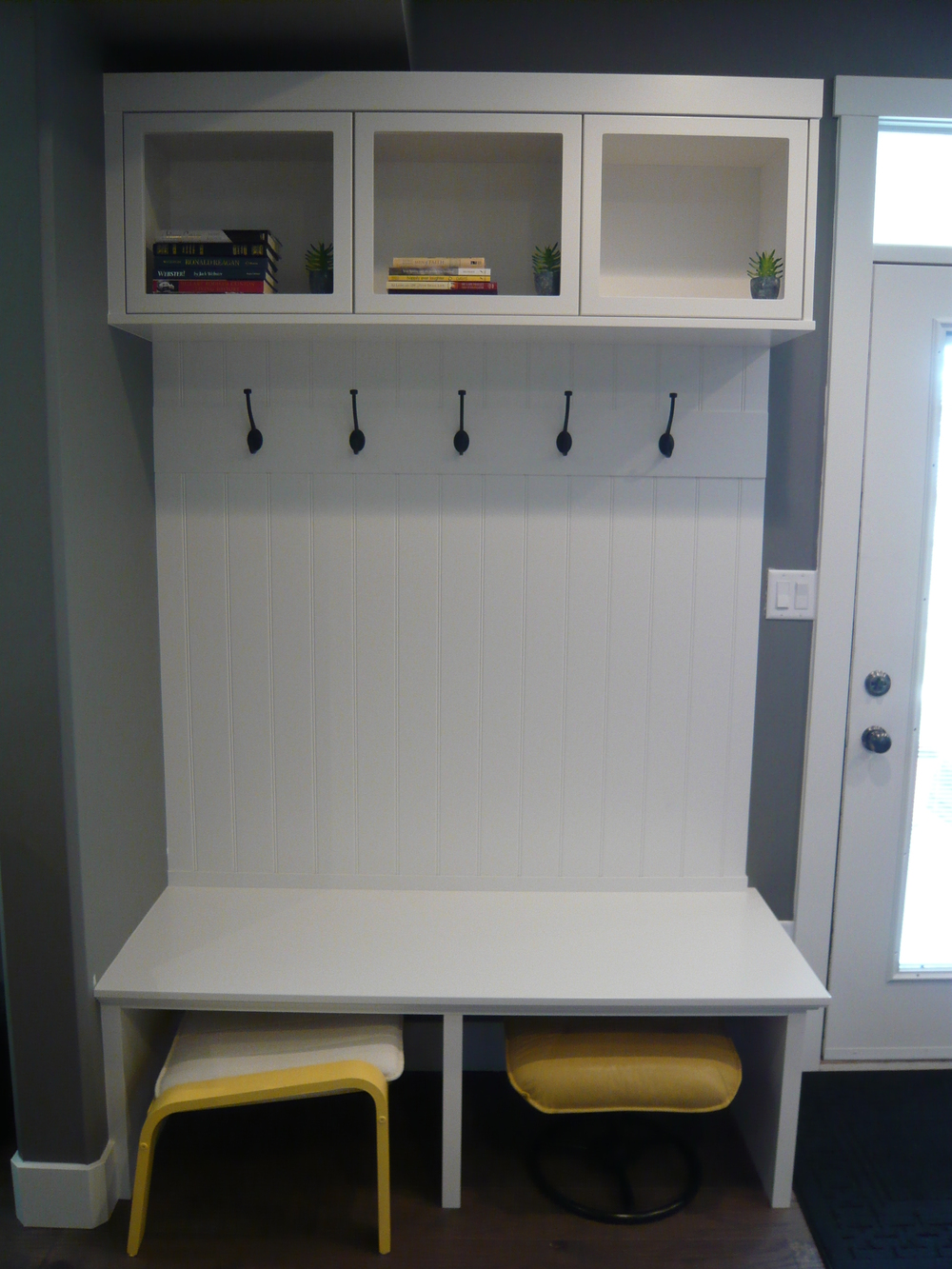 Basement Suite Coat Closet