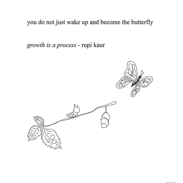 aaaaaaaah yassss..... stay with the process of being you. right now. it's perfect. #butterflylove #♥️
