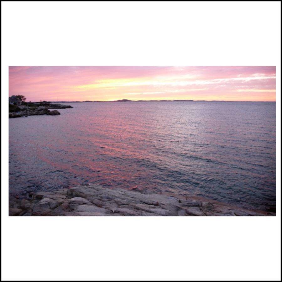 gloucester bay sunset