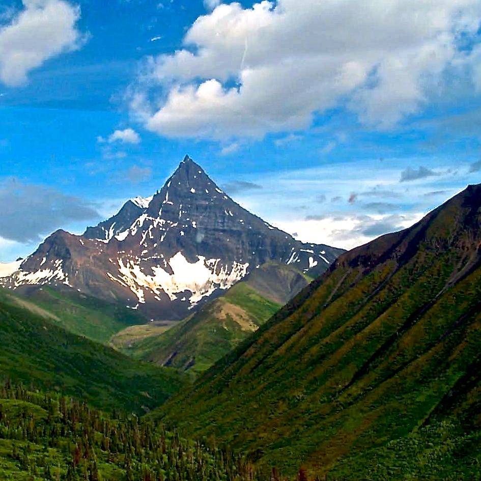 Pyramid Mountain, Wrangell-St. Elias National Park, Alaska