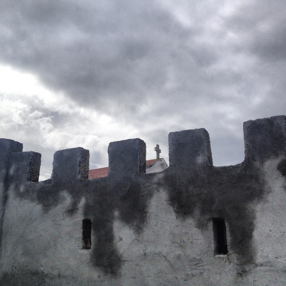 Graveyard Wall, Tkon, Croatia