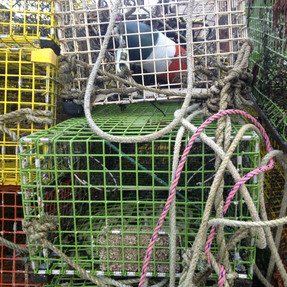 Lobster Trap, Gloucester Harbor, Massachusetts
