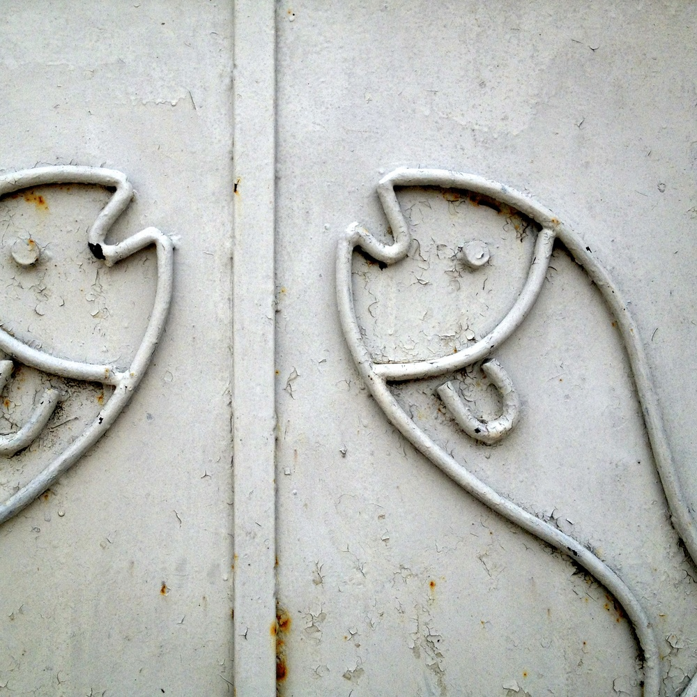 Fish Ornamental Steel Door, Zadar, Croatia