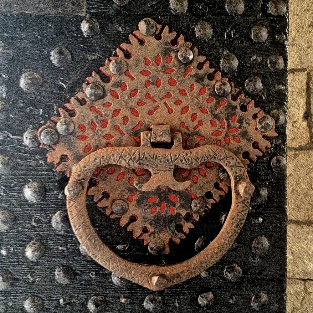 Ornamental Iron Door, Dubrovnik, Croatia